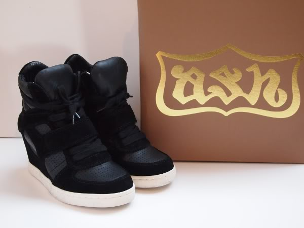 New in: Ash Cool Wedge Sneakers