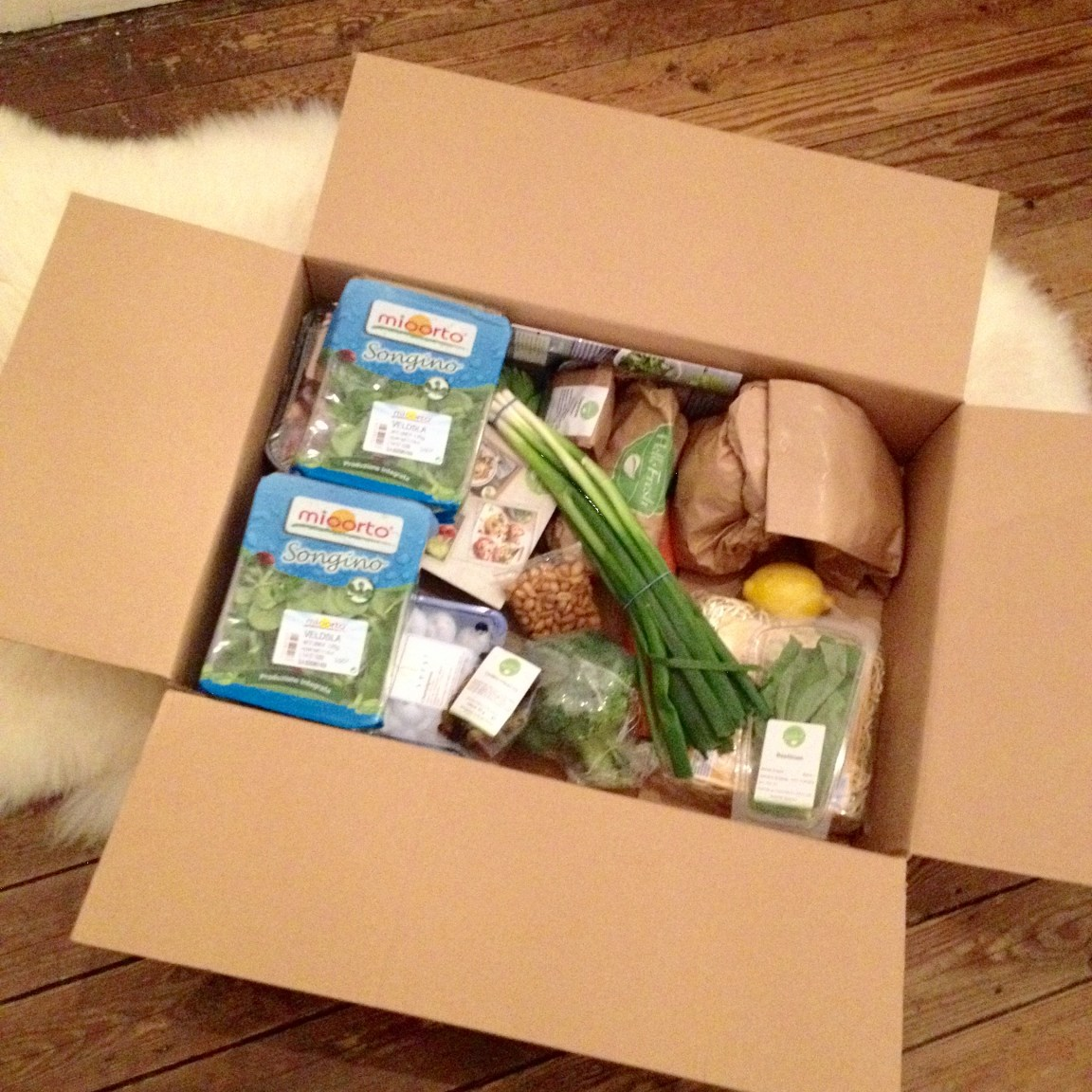 HelloFresh box week 3 2015
