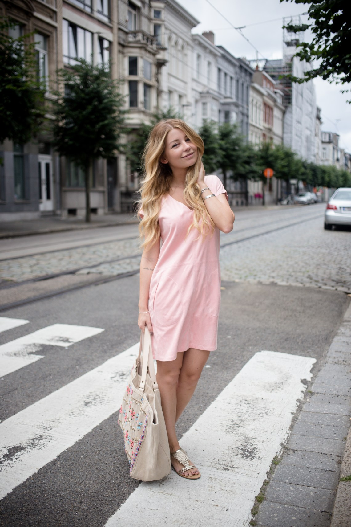 Pink-Suede-Dress-Sienna-5