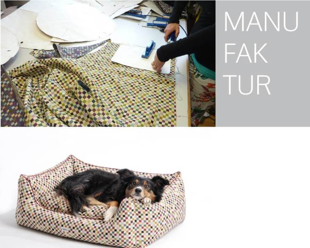 That´s how we work....tailoring your new dog bed Sanibel... | DOGS in the CITY