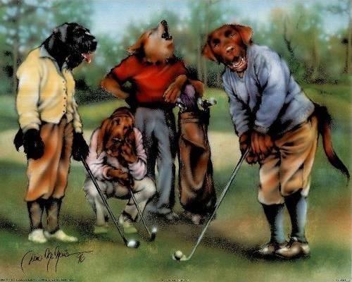 Golf By Dan Mcmanis Dogsplayingpoker Org