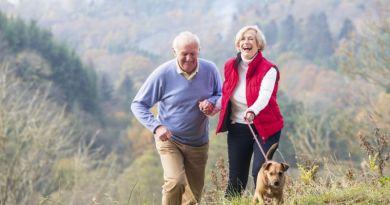 Cani e anziani un binomio che allunga la vita