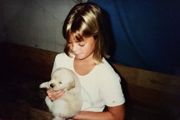I loved my sweet puppy Jake. (Photo courtesy Jackie Brown)