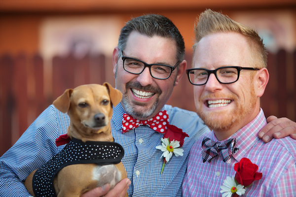 With a little planning, your dog can definitely be a part of your big day. (Photo by Shutterstock)