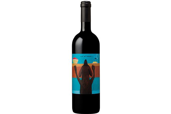 One of Mutt Lynch Winery's dog-inspired wines.