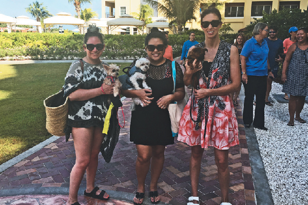 I was lucky enough to stay at The Ritz-Carlton, Aruba, along with Instagram faves (left to right) Hilary Sloan & Ella Bean, Elle Drouin & Mochi plus Sigrid Neilson & Sprout.