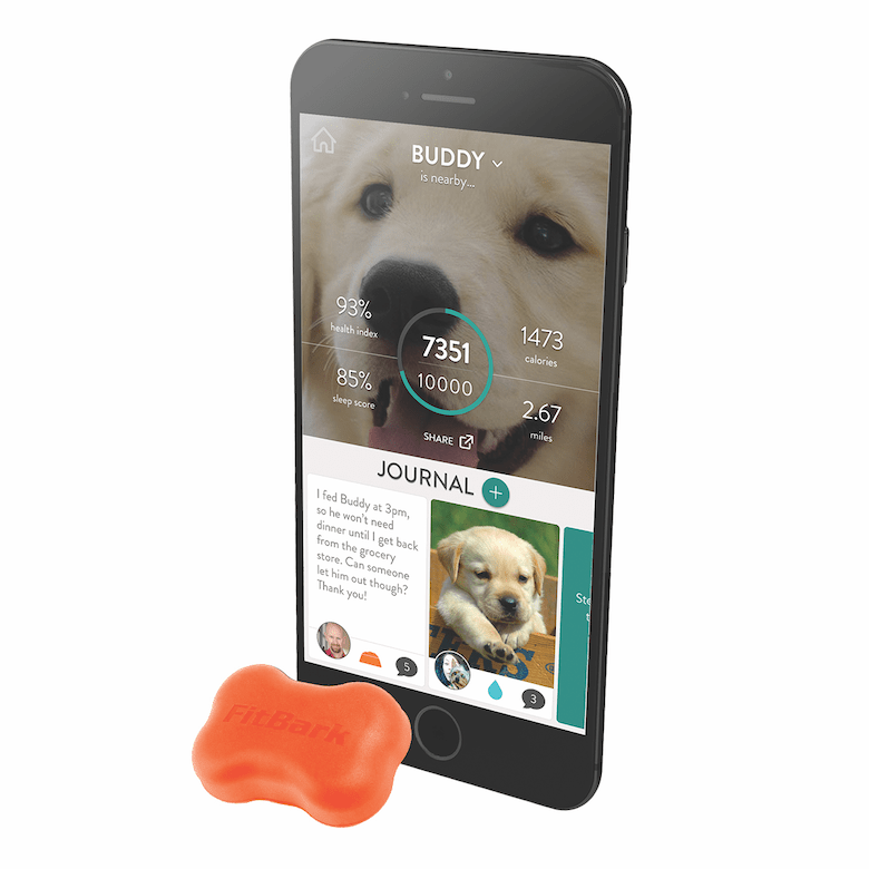 Fitbark.com fitness trackers for dogs