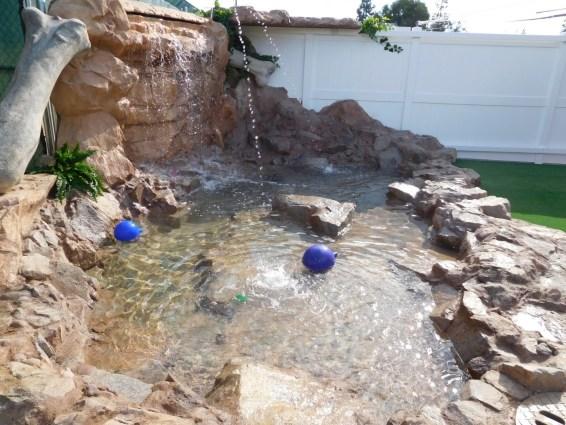 Gym Pool & Falls