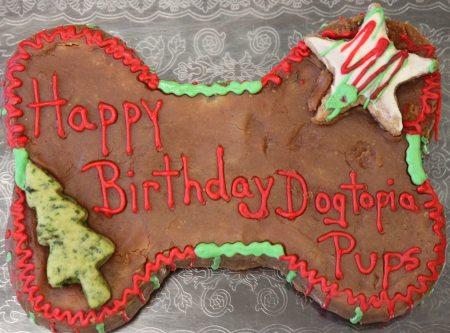 Holiday Doggie Cake