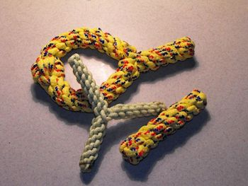 DIY rope dog toys