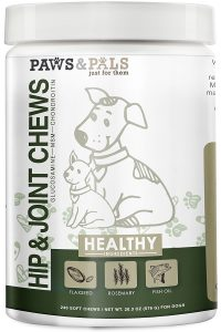 Paws & Pals Glucosamine Chondroitin | joint supplements for dogs