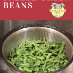 Freezing green beans is an easy way to preserve your harvest for the winter months.