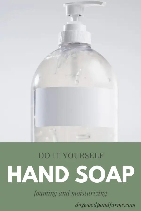 diy hand soap