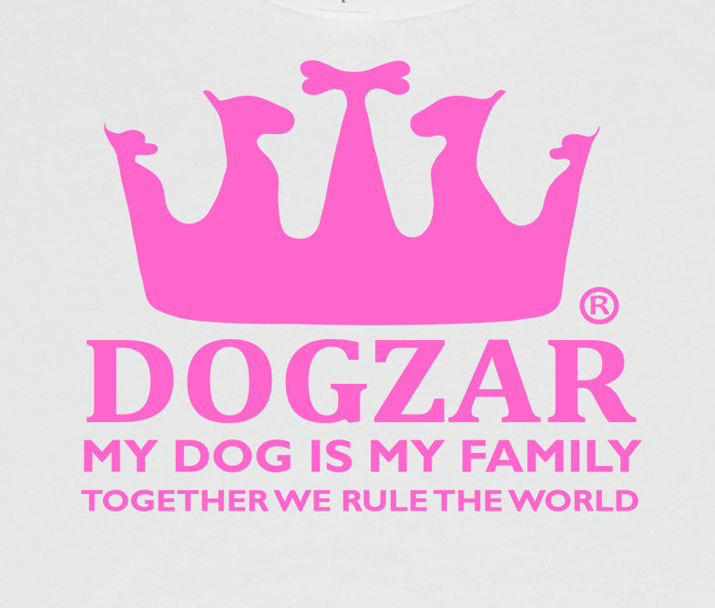 DOGZAR® logo artwork - white