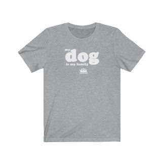 DOGZAR® My Dog is My Family Tee - Athletic Heather