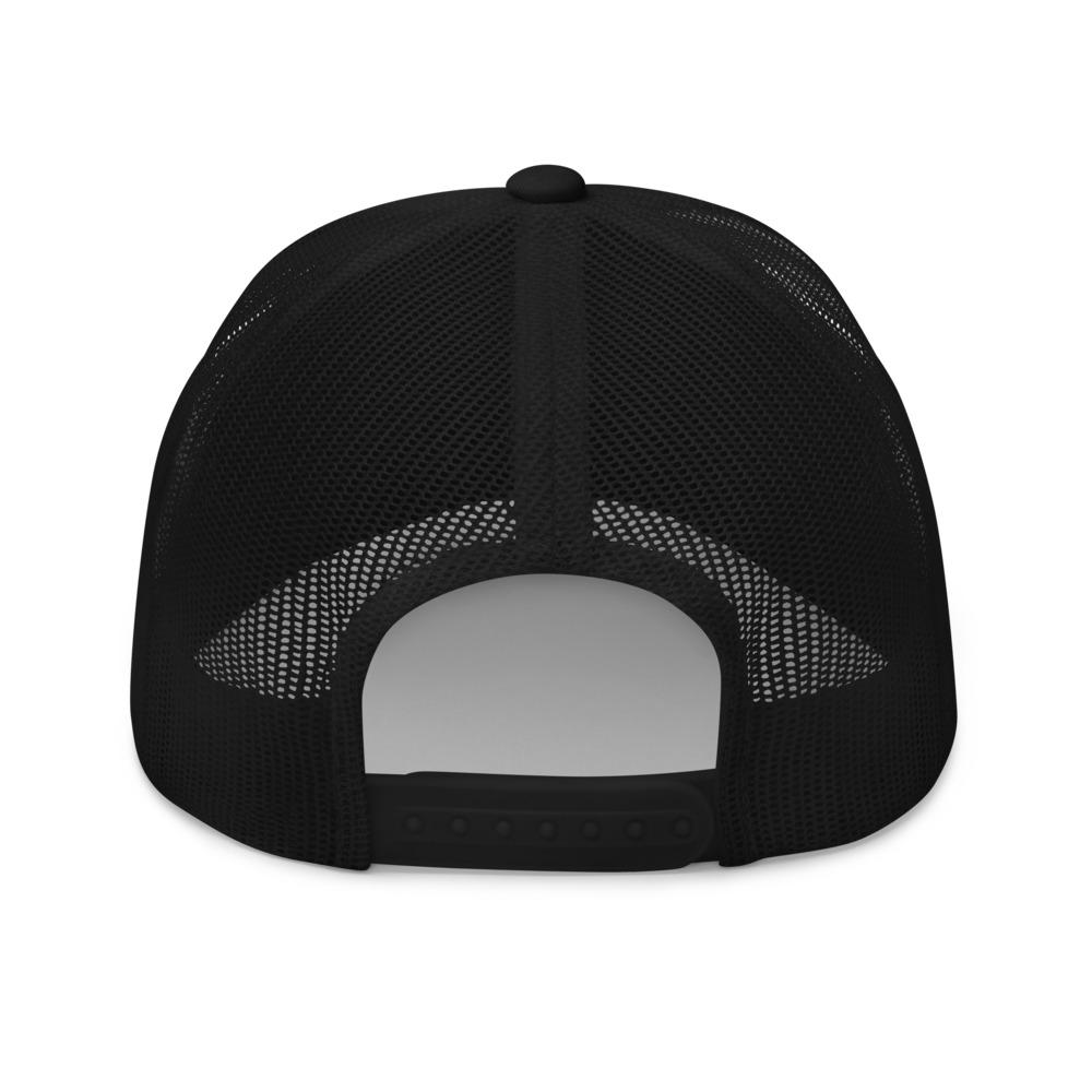 DOGZAR® Pug Mesh Back Hat - Black