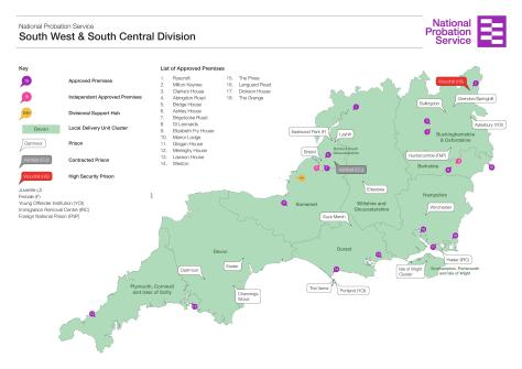 NPS South West & South Central Region