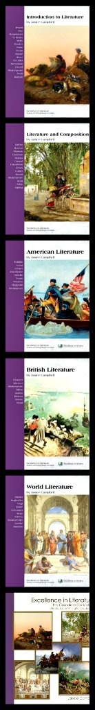 Excellence in Literature is classic literature and writing curriculum for grades 8-12.
