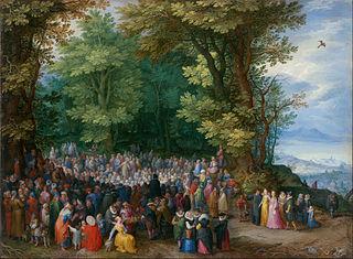 Sermon on the Mount by Jan Brueghel the Elder, 1598