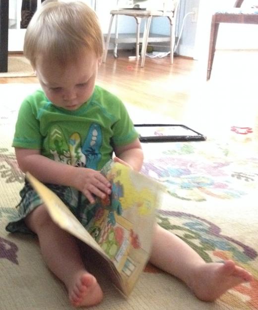 Ira reading.