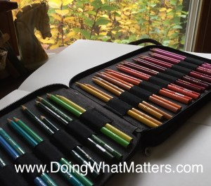 Prismacolor colored pencils are perfect for keeping a nature journal.