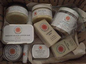 Lovely skin care from Third Day Naturals.