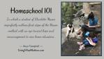 Homeschool 101: Charlotte Mason Style