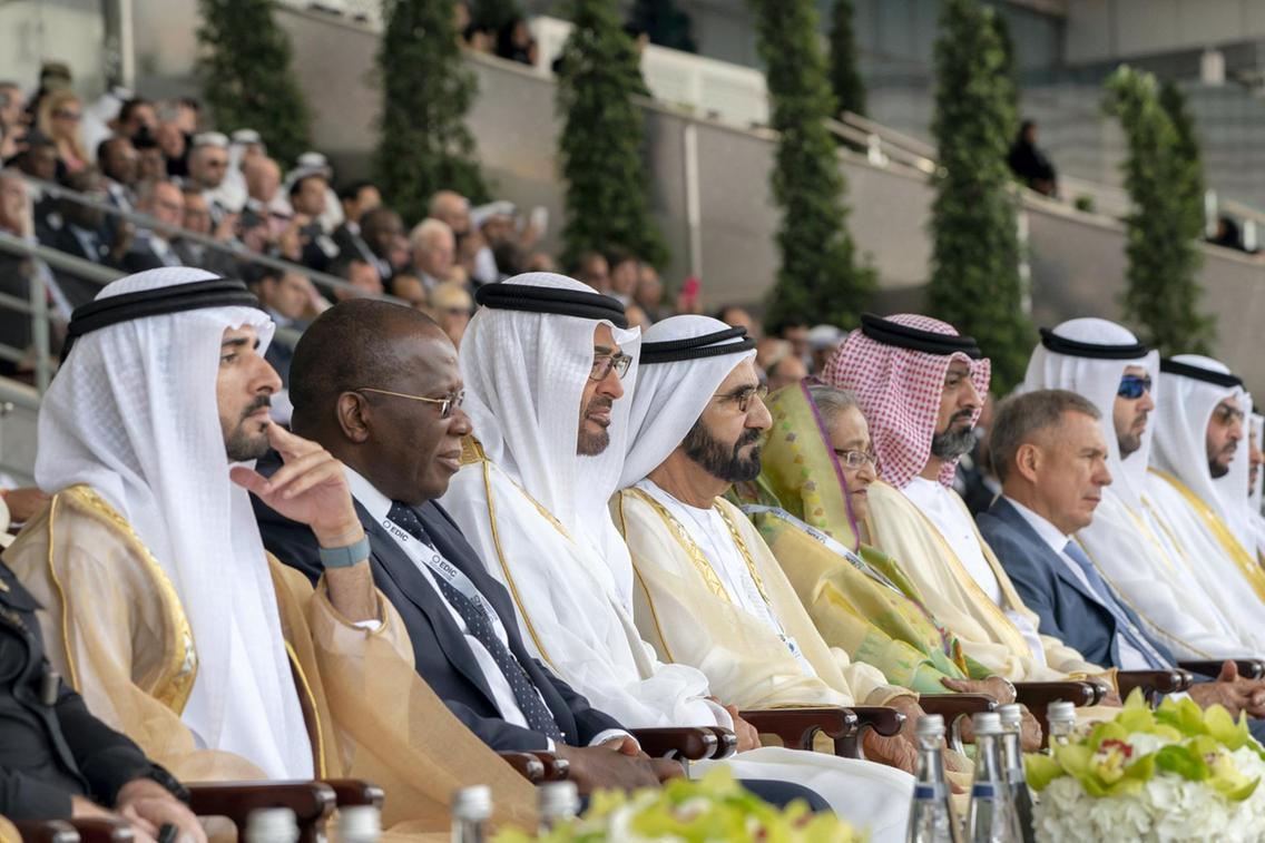 সংযুক্ত আরব আমিরাতে আন্তর্জাতিক প্রতিরক্ষা প্রদর্শনীতে যোগ দিলেন প্রধানমন্ত্রী