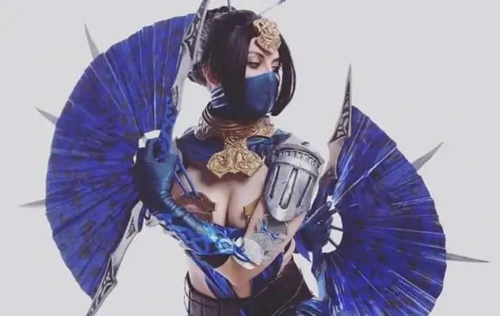 Da Mortal Kombat il cosplay della principessa Kitana