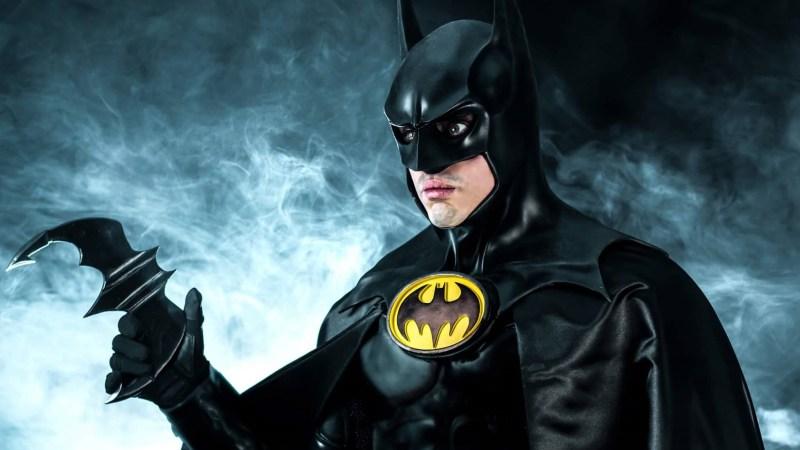 L'iconico Batman di Tim Burton, interpretato da Alex Wayne!