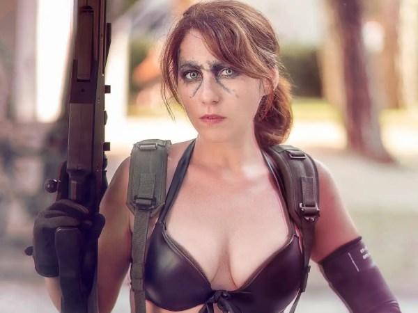 Il cosplay di Quiet, la misteriosa ed affascinante cecchina dell'ultimo capitolo di Metal Gear Solid!