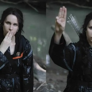 Russian cosplayer Victoria Bulycheva is Katniss Everdeen from Hunger Games!