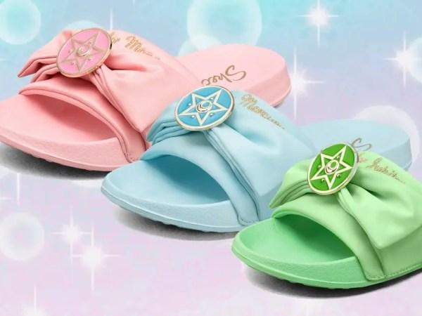 Degli oggetti di stile, ecco i sandali di Sailor Moon!