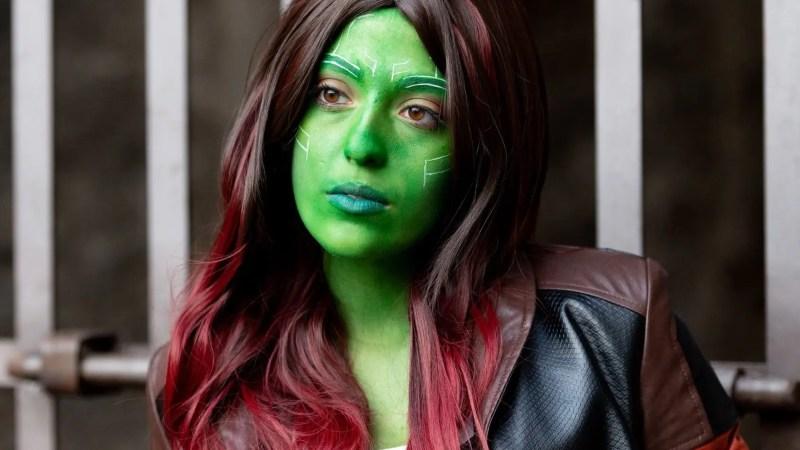 La cosplayer Giulia Leanza è Gamora dall'universo Marvel!