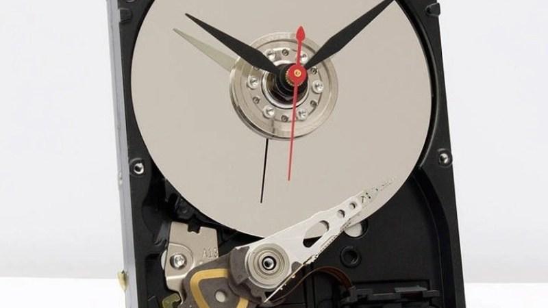 Un hard disk? No uno strano orologio