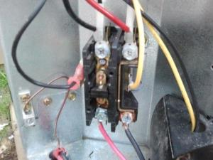 Noise in the Contactor Relay in my AC unit outside
