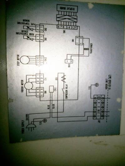 samsung split unit wiring diagram wiring diagram air conditioner indoor er fan motor wiring on universal pcb