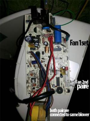 Air conditioner Indoor Blower Fan Motor Wiring on