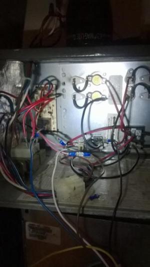 wiring a new carrier blower motor into an old goodman air handler  DoItYourself Community