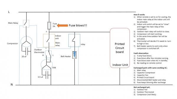 10a ac fuse gets blown after a few minutes  doityourself