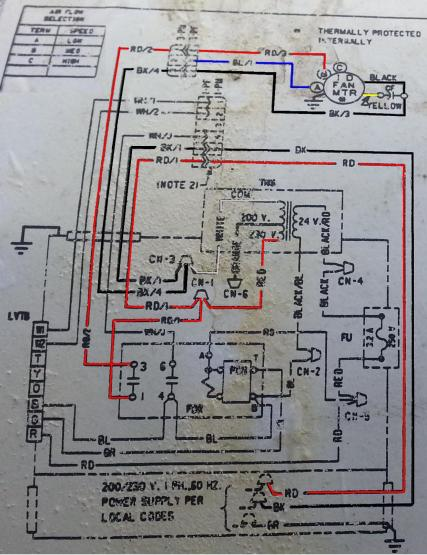 37578d1409702632 new blower motor trane heat pump trane twv diagram trane wiring diagram efcaviation com trane xe 1100 wiring diagram at fashall.co