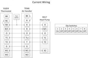 Wiring between Trane XL824, TEM6, and XR17  DoItYourself Community Forums