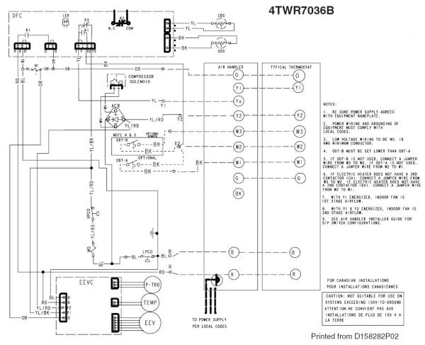 trane air handler wiring diagrams  99 chevy express fuse