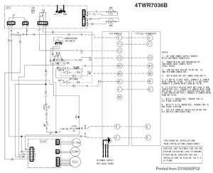 Wiring between Trane XL824, TEM6, and XR17  DoItYourself