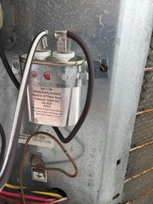 4 Wire Condensor Fan on Heat Pump  DoItYourself