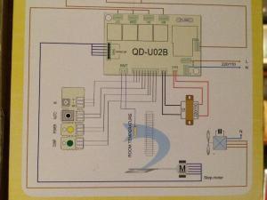 Air conditioner Indoor Blower Fan Motor Wiring on