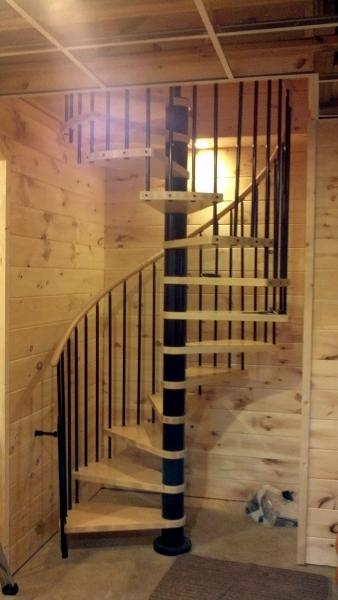 Moving Basement Stairs Going Through Cement Wall From Garage | Basement Stairs In Garage | Deck | Outside | Back | Epoxy Coating | Easy Diy