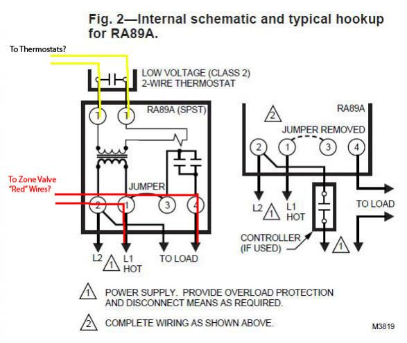 honeywell 4 wire zone valve wiring diagram  cleaver brooks