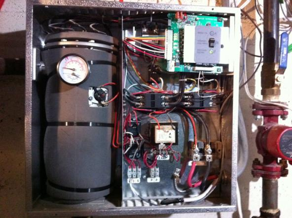Thermolec Electric Boiler Amp Nest Thermostat Setup