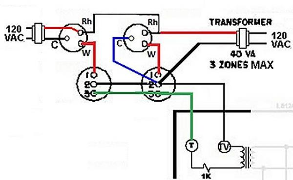 Honeywell Aquastat Wiring Diagram Common C Honeywell R845A
